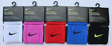 NEW Nike Dri-FIT Dry Reveal Wristbands 2-PACK Singlewide Tennis Soccer Running