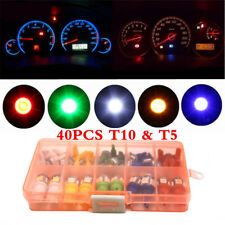 12V Car T5 T10 5050SMD Car Instrument Panel Light Bulb Clusters Dashboard Lamps