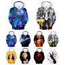 The Seven Deadly Sins 3D Anime Hoodies Sweatshirts Unisex Casual Pullover Coat