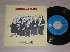 """MARIELLA NAVA - MENDICANTE / LA CASA DI LUIGI - 45 GIRI 7"""" ITALY"""
