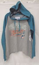 Miami Dolphins Womens Touch M Rebel Hoody 738