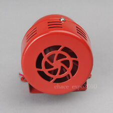 12V Car Truck Driven Air Raid Siren Horn Alarm Loud Sounds Fire Security Rescue