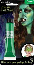 28ml Cream Face & Body Paint Fancy Dress Party Make Up Accessory - Green