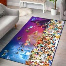 Disney Characters Area Rugs Living Room Carpet