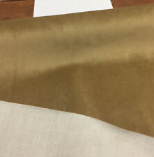 40 Yard roll Antique Gold Solid Super Velvet With Backing Fabric