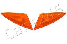 GENUINE PORSCHE 911 Boxster 996 986 Amber Headlight Corner Reflectors Trims PAIR