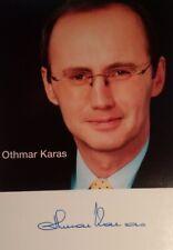 Othmar Karas - Austrian politician, European Parliament, Autograph, Autogramm