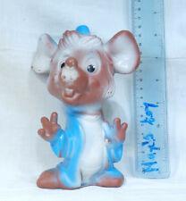 New listing Jaq Cinderella Mouse Vintage Biserka Art Rubber Toy Doll Walt Disney Princess