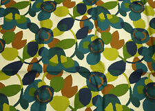 Robert Allen 100% Cotton Abstract Floral Drapery/Upholstery Weight Fabric