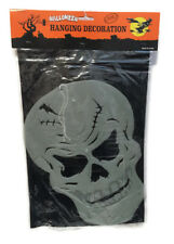 Halloween Glow in the Dark Hanging Crâne Décoration Ornement Fun Kids Enfants