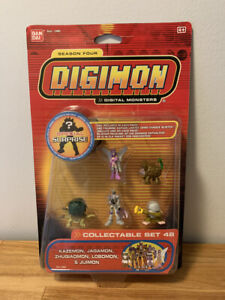 Digimon Collectable Mini Figure Season Four Set 48 Bandai New Sealed MOC