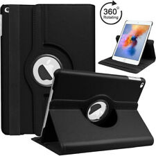 Rotating 360 Stand Cover Case PU Leather For Apple iPad 5 & 6 Gen iPad Air 9.7