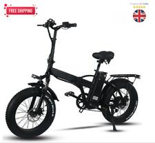 Electric bike 750W 48V 15Ah foldup travel beach cruiser Booster bicycle Fat Tyre