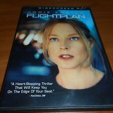 Flightplan (DVD, 2006, Widescreen) Jodie Foster Used Sean Bean Flight Plan