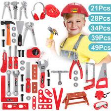 Toolbox Simulation Repair Box Children Kids Educational Toy Screwdriver Tool