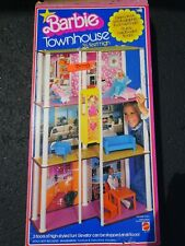 Vintage Barbie Townhouse Playset in Box #7825 Doll House.
