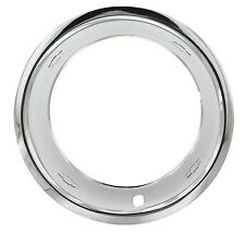 """15""""X8"""" CHEVY GM BOW TIE, STAINLESS STEEL TRIM RINGS, BEAUTY RINGS SET OF 4 ~NEW~"""