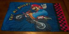NINTENDO WII  MARIOKART Pillowcase Pillow Case SUPER MARIO LUIGI KART RACER