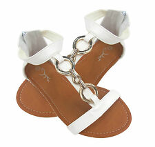 WOMEN'S LADIES NEW FLAT TOE POST DIAMANTE SUMMER ANTI-SLIP SOLE SANDALS SHOES