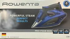 Rowenta Pro Steam Iron 1750 watts - Auto Off /Anti Calcium Anti Drip System