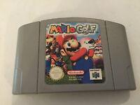 NINTENDO 64 N64 GAME CARTRIDGE PAK PAC PACK ONLY SUPER MARIO GOLF PAL GWO