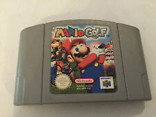 NINTENDO 64 N64 GAME CARTRIDGE PAK PAC PACK ONLY SUPER MARIO GOLF PAL GWO