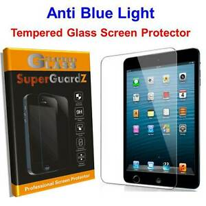 Anti Blue Light Tempered Glass Screen Protector Guard Shield For iPad + Stylus