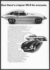 "1966 Jaguar XKE Coupe Convertible 2+2 Coupe photo ""A Proud Possession"" print ad"