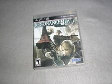 Resonance of Fate for PlayStation 3 PS3 MINT COMPLETE TESTED & WORKING Game