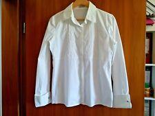 Bluse Shirt Tunika Hängerchen Damen QIERO QUIERO 38 40 M L weiß TOP Büro Party
