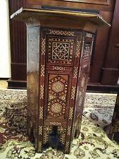 Hand inlaid, handmade Mosiac Table