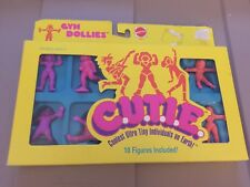 Vintage 1986 Mattel C.U.T.I.E. PVC Figure Set MIB Muscle Men Lot B
