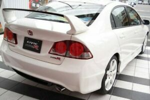 Type R style rear wing spoiler for 06-11 Honda Civic Type R FD2 Unpainted