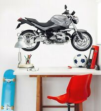 3D Metal Motorcycle G095 Car Wallpaper Mural Poster Transport Wall Stickers Wend