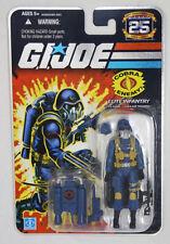 """GI Joe 2007 25th Ann Foil Card 3 3/4"""" Cobra Air Trooper Action Figure MOC Hasbro"""