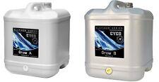 Cyco Nutrients Grow A & B Hydroponics Fertilizer Platinum Combo 20L Liter
