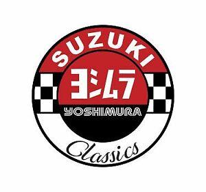 Sticker plastifié Yoshimura Classics Suzuki - 6cm x 6cm