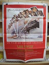 A3051 Los unos y los otros Michel Piccoli, James Caan, Jeanne Moreau, Geraldine