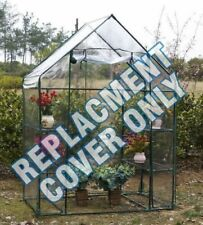 New Replacement Spare Clear Pvc Cover Only For Walk In Greenhouse Garden Grow