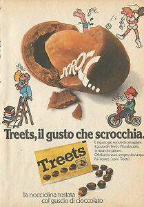 X4523 Treets Le Goût Que Scrocchia - Publicité 1976 - Advertising