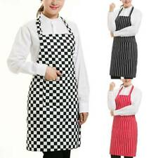 UK PLAIN APRON WITH FRONT POCKET FOR CHEFS BUTCHERS KITCHEN COOKING CRAFT BAKING