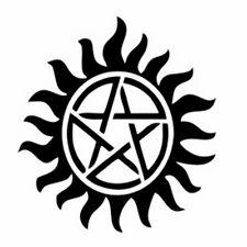 Supernatural Anti-Possession Pentagram car window sticker vinyl decal funny