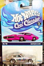 2015 Hot Wheels Cool Classics Datsun 240Z Pink Card L Case In Stock