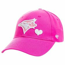 Toddler Toronto Blue Jays Sugar Sweet Pink Adjustable Strap Cap Hat One Size