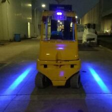 3Pcs Forklift Truck Blue LED Line Warning Lamp 30W Safety Working Light 10-80V