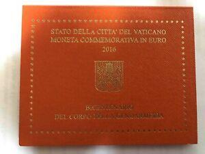 2 Euro Vatikan Gedenkmünze 2016 - 200 Jahre Vatikanisches Gendarmeriekorps