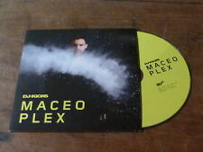 DJ-KICKS - MACEO PLEX !!!!!!!!!!!!!!!!!! RARE CD PROMO !!!!!!!!!!!!!!