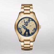 Michael Kors Women's Layton MK6243 Gold Stainless-Steel Swiss Quartz Watch