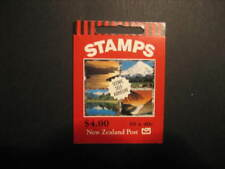 NEW ZEALAND 1998 $4 SCENERY   BOOKLET WITH STAMP HUNTER ADVERT.   SG SB 89ae