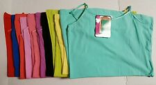 LOT OF 11 WOMEN'S  MOPAS ADJUSTABLE SPAGHETTI STRAP CAMISOLE TANK TOPS SIZE S